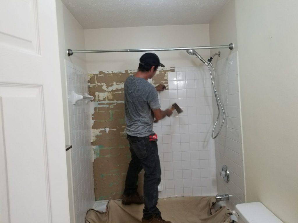 Good Time Handy Bathroom Retile Before