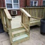 wooden deck gwynn oak md